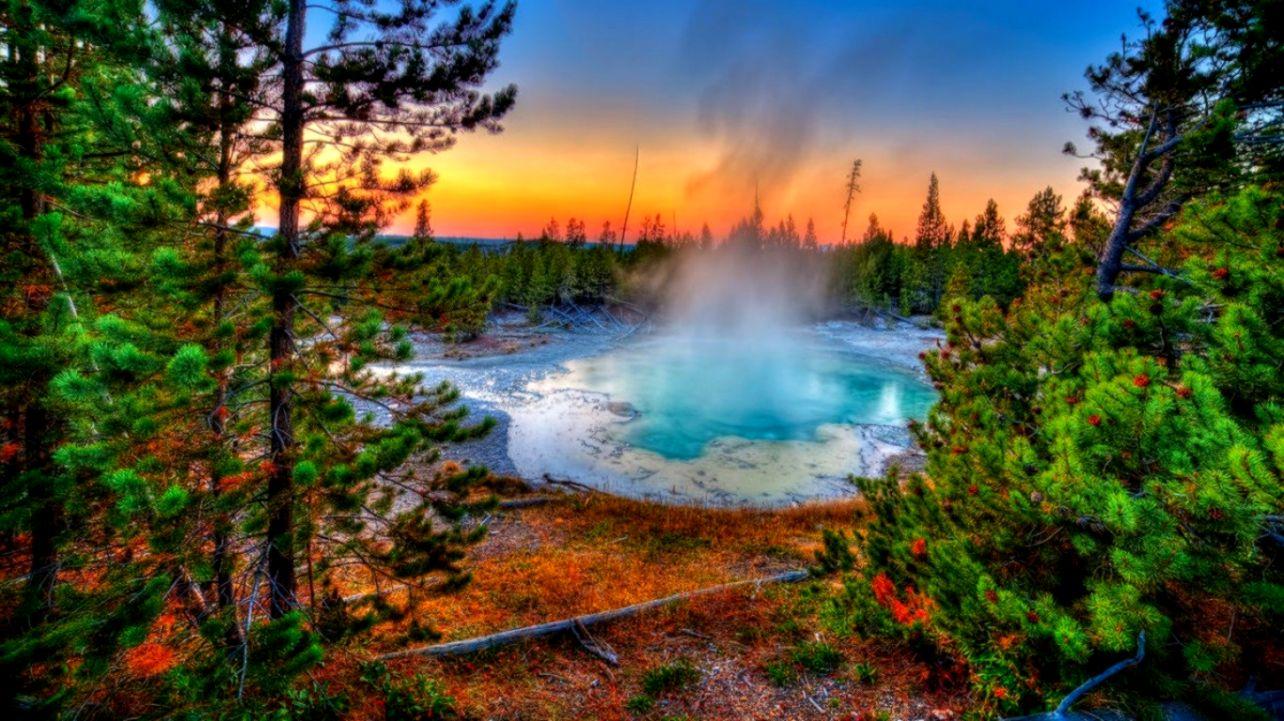 Yellowstone National Park Desktop Background Wallpapers Ideas 1284x721