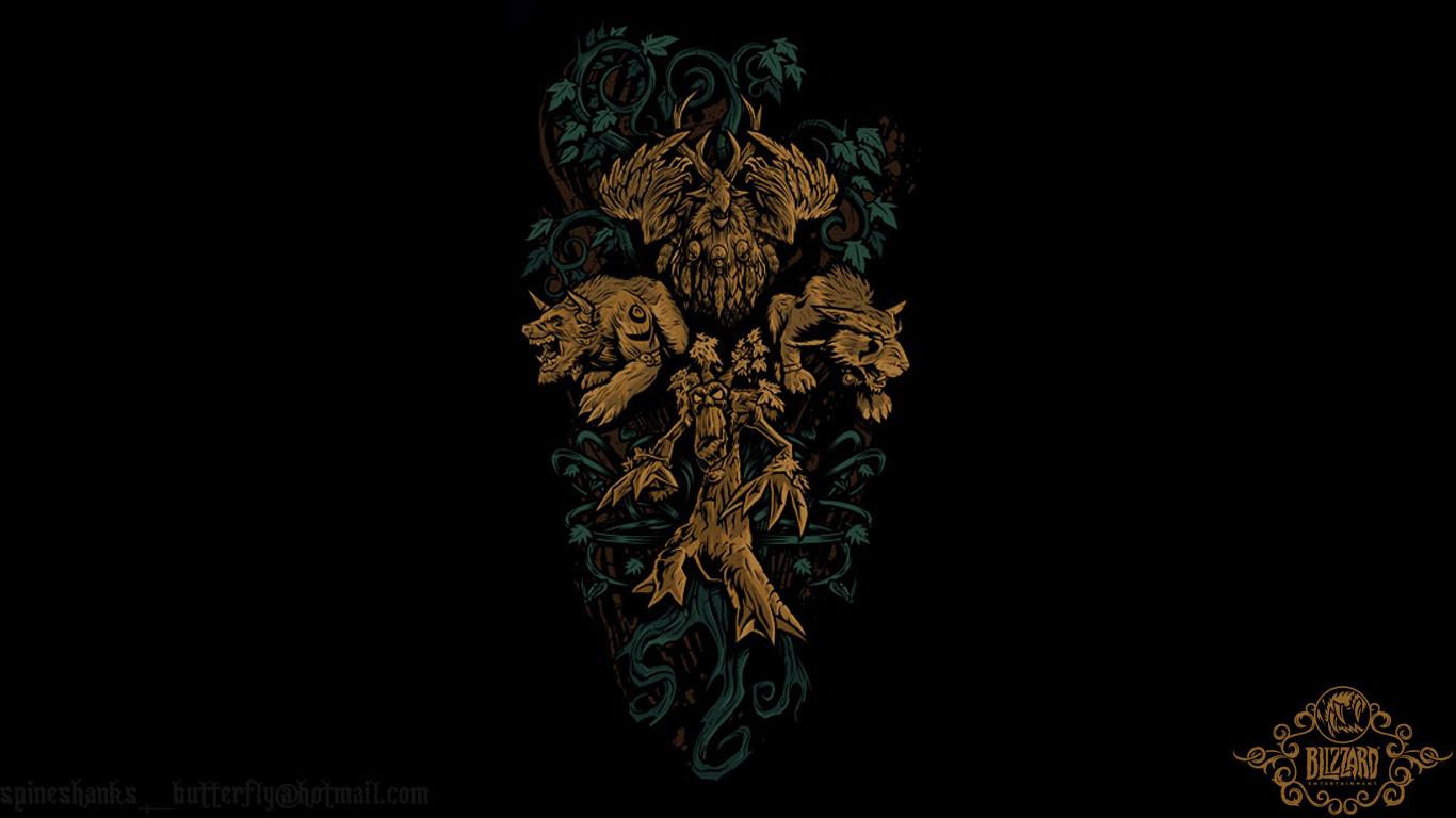 World Of Warcraft Wallpaper 1920x1080: WOW Druid Wallpaper