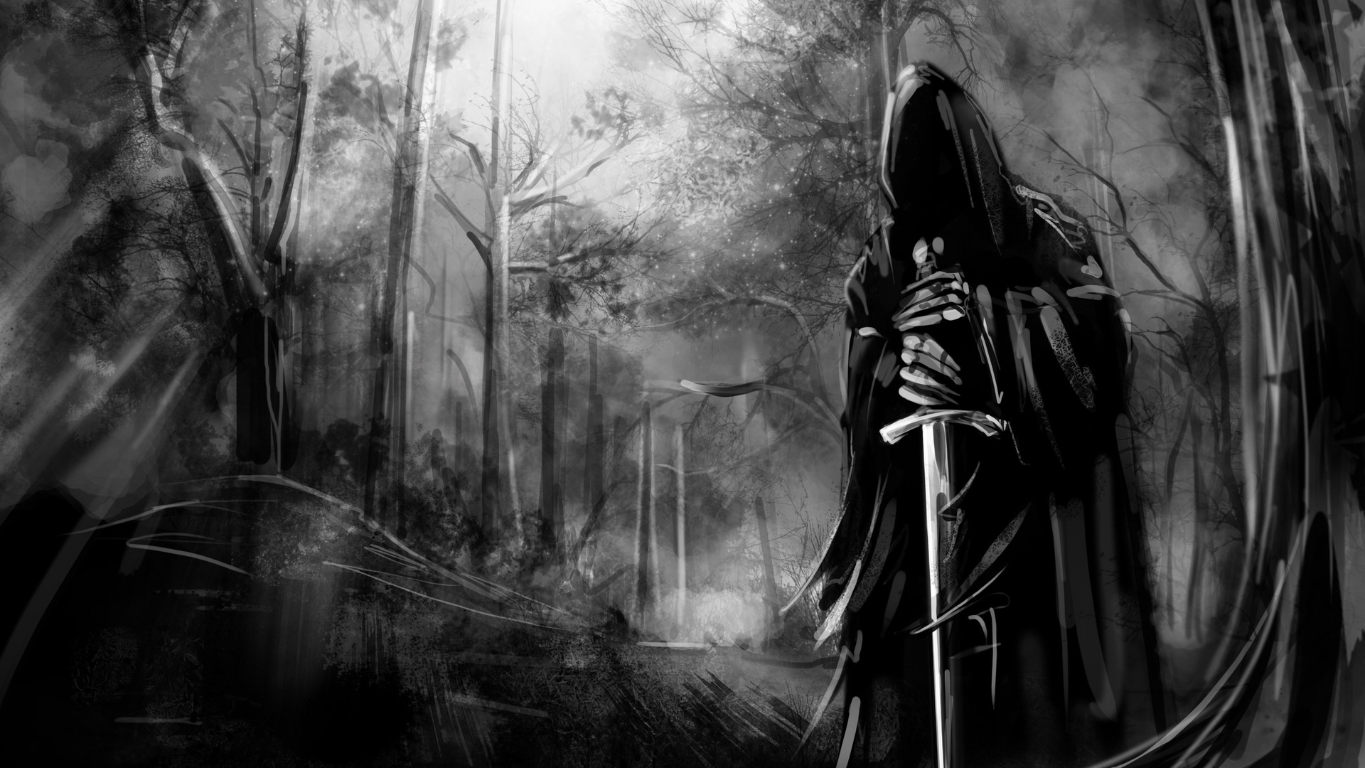 Lord of The Rings Black Wide HD Wallpaper   Stylish HD Wallpapers 1920x1080