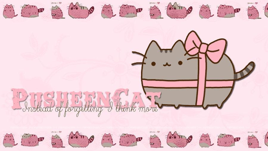 Wallpaper 005 Pusheen Cat by PuppyEditions 900x506