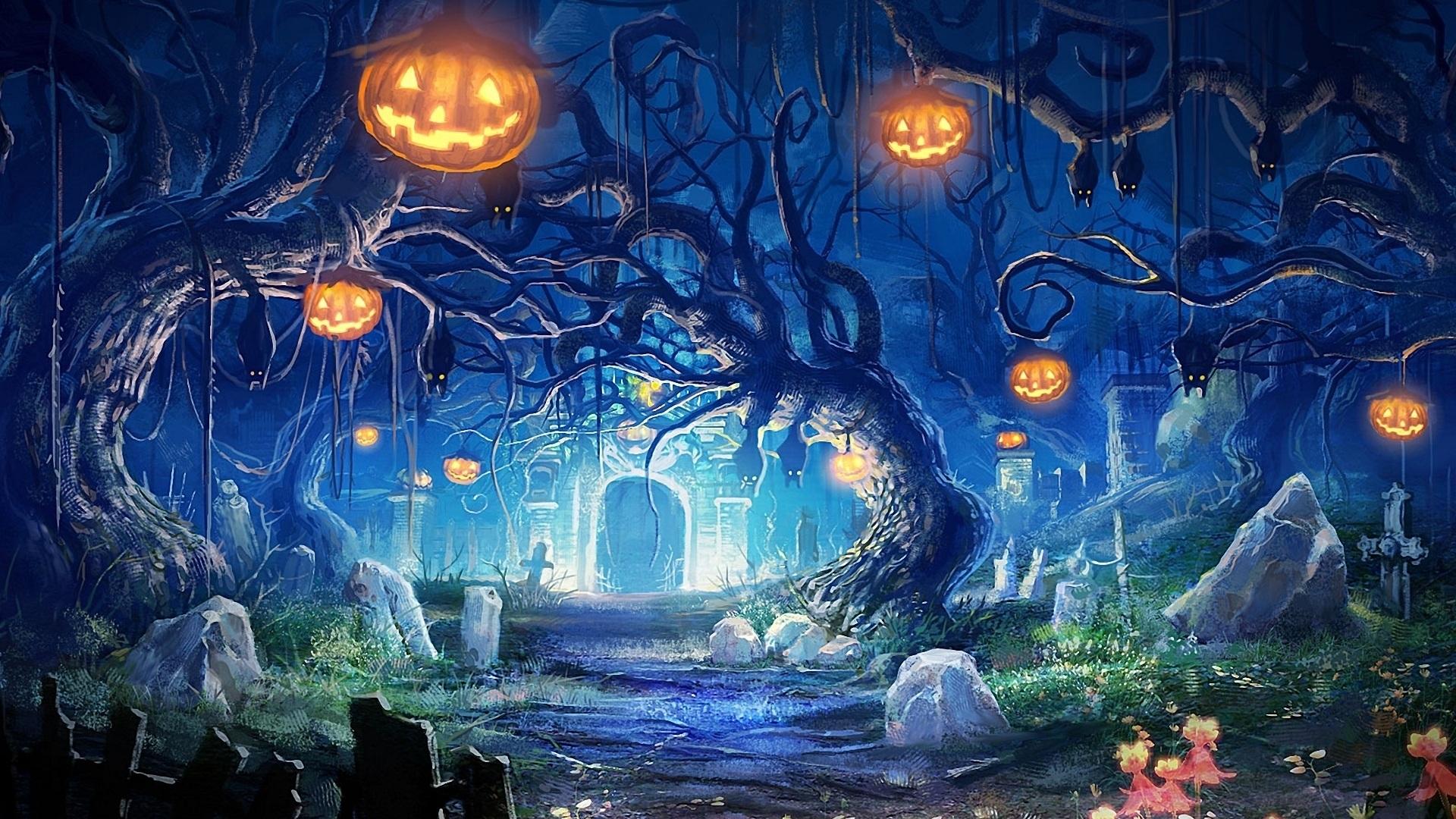 halloween wallpaper 1920x1080 1479137 - Desktop Wallpaper Halloween