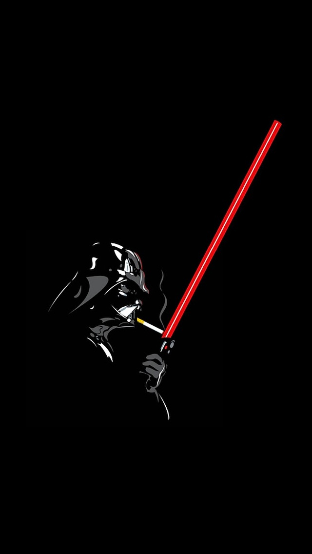 Star Wars Smoking   The iPhone Wallpapers 640x1136
