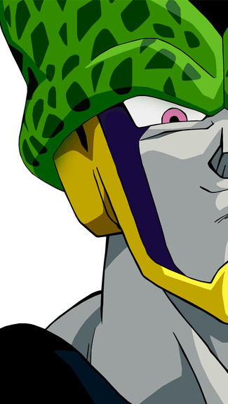 Dragon Ball Z   Cell iPhone 5C 5S wallpaper 325x576