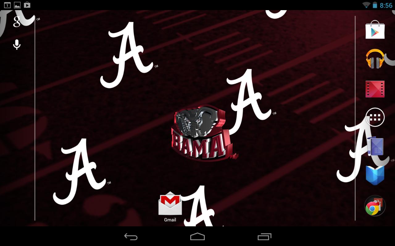 Free Download Licensed Alabama Crimson Tide Live Wallpaper With