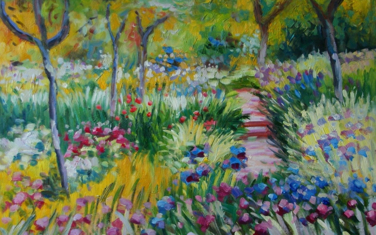 Impressionist painting 1280x800 Wallpapers 1280x800 Wallpapers 1280x800