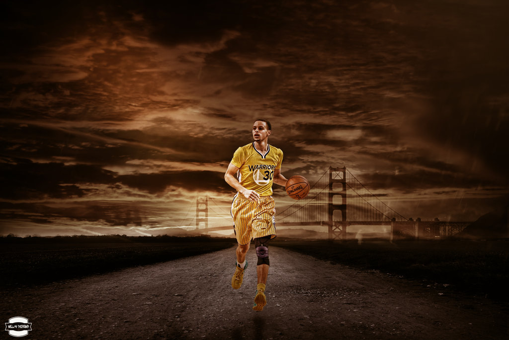 Stephen Curry Wallpaper by NewtDesigns 1024x683
