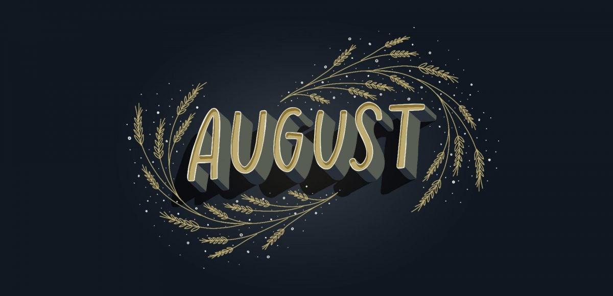 Freebie August 2018 Desktop Wallpapers   Every Tuesday 1200x580