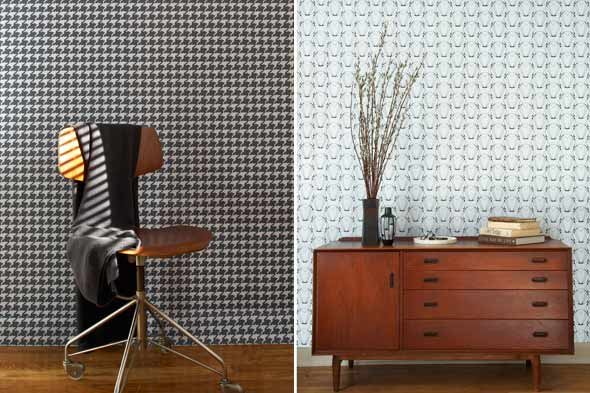 Fabric Wallpaper Temporary Wallpaper 590x393