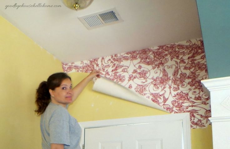 Best Easiest wallpaper removal EVER Natural alternatives Pint 736x478