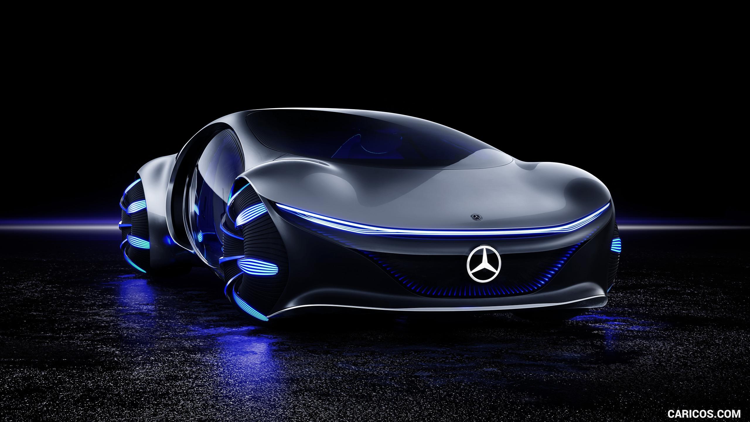2020 Mercedes Benz VISION AVTR Concept   Front Three Quarter HD 2560x1440