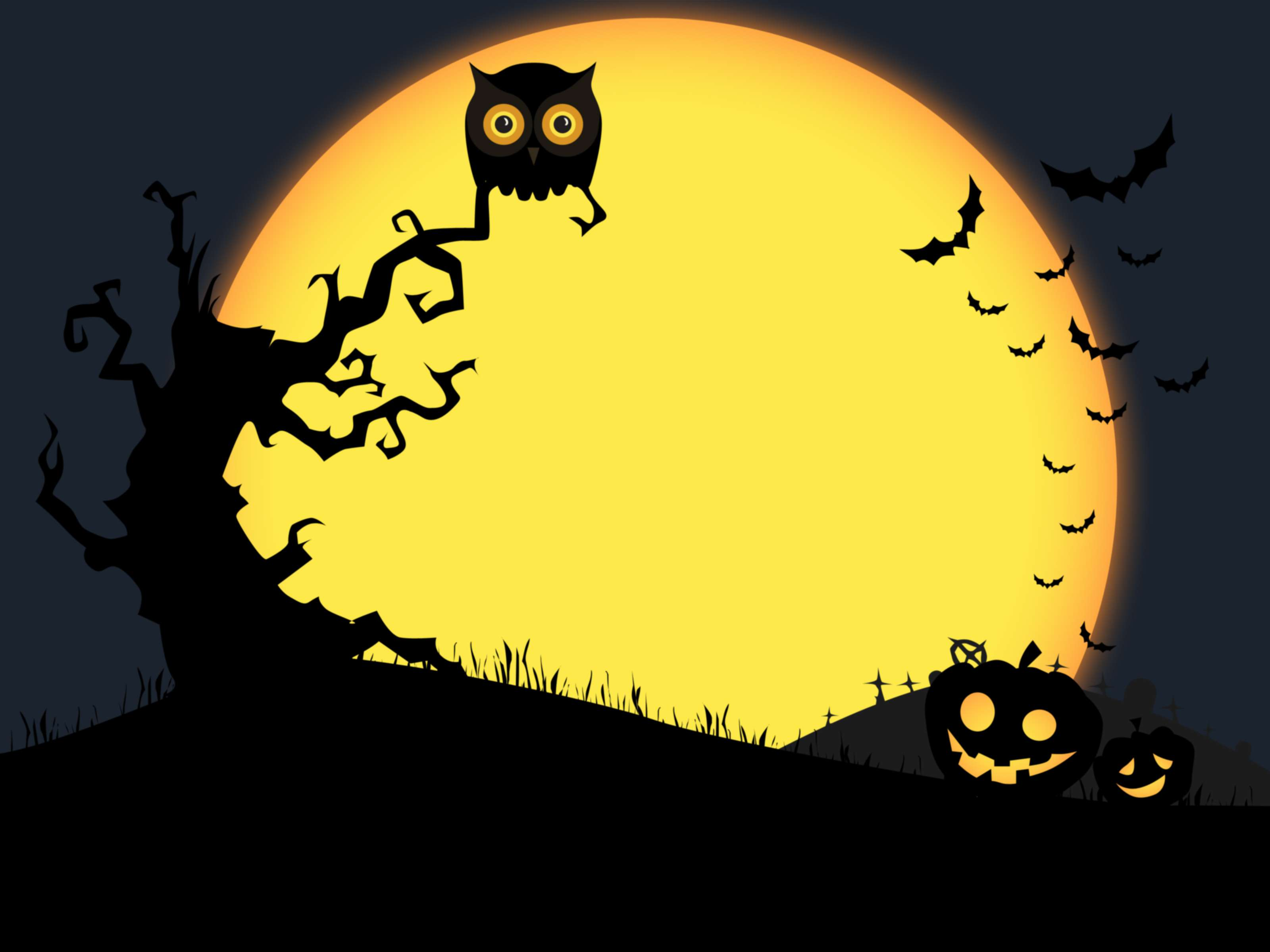 45 Spooky and Fun Halloween Wallpapers 3200x2400
