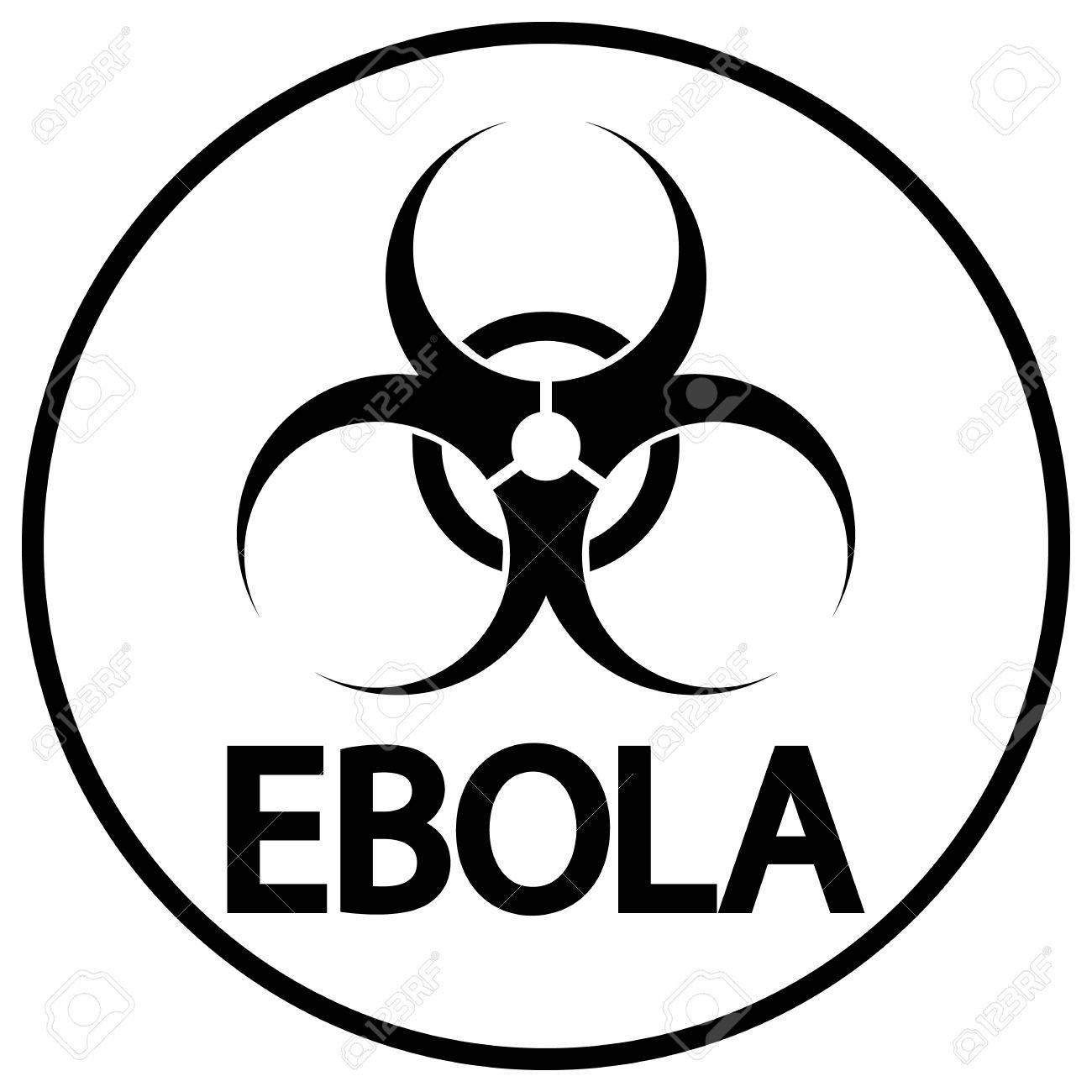 Ebola Virus Icon On White Background Royalty Cliparts 1300x1300