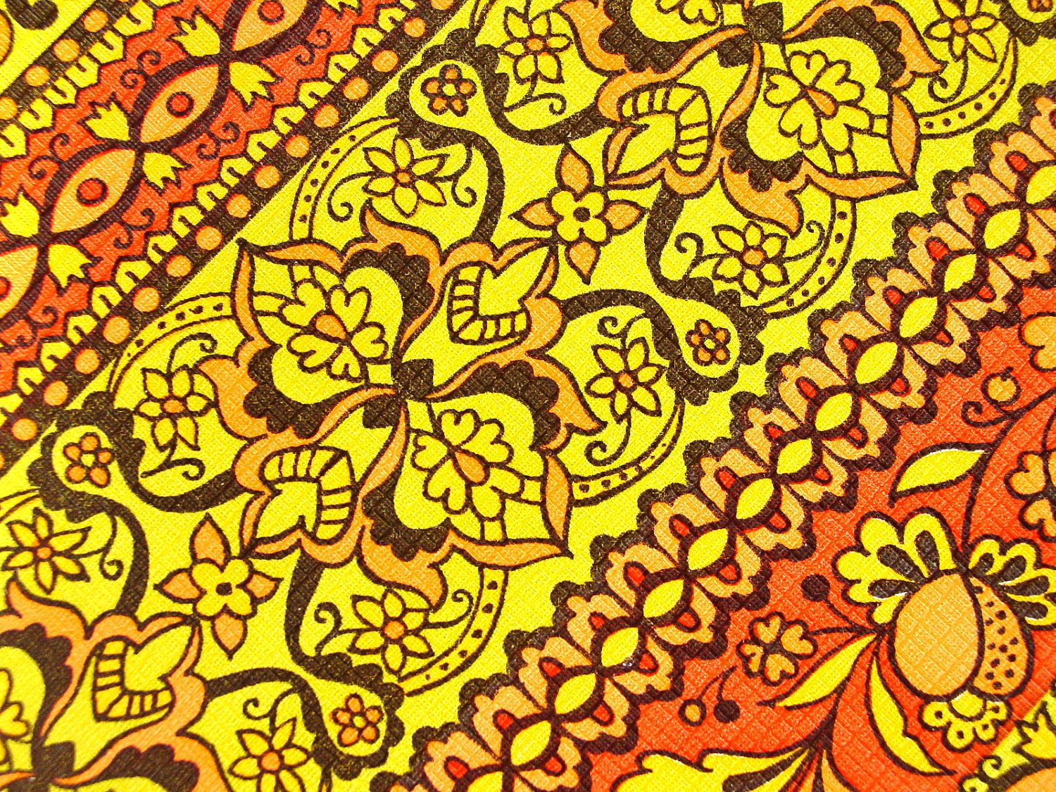 1970s Wallpaper Patterns 1970s harvest gold wallpaper 1500x1125