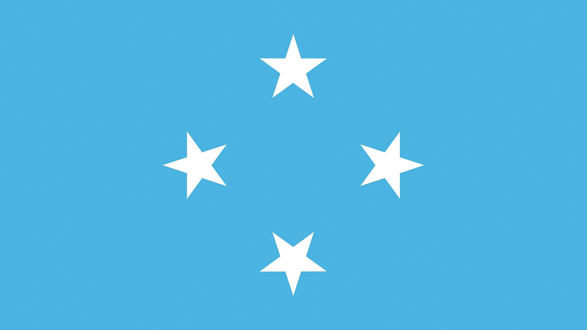 Photos Federated States of Micronesia Flag 2048x1152 2048x1152