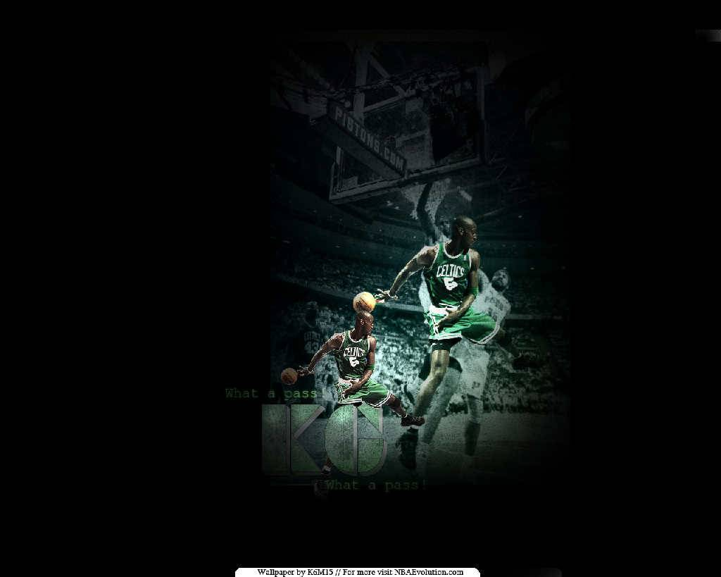 Kevin Garnett Pass Wallpaper   Boston Celtics Wallpaper 1024x819