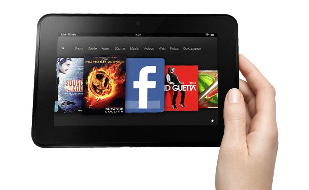 Amazon Kindle Fire 7 HD im deutschen Hands On Video inklusive Kurztest 620x381