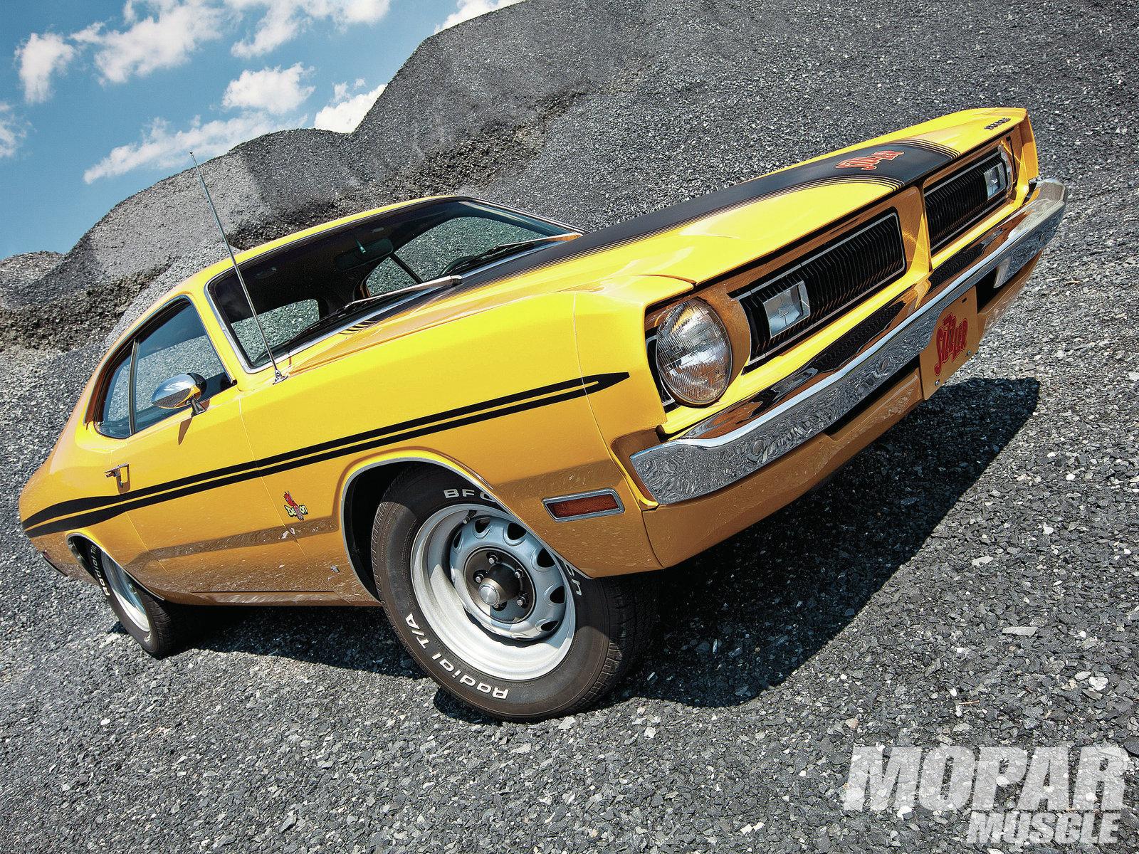 1971 Dodge Demon Hemi muscle cars wallpaper 1600x1200 34802 1600x1200