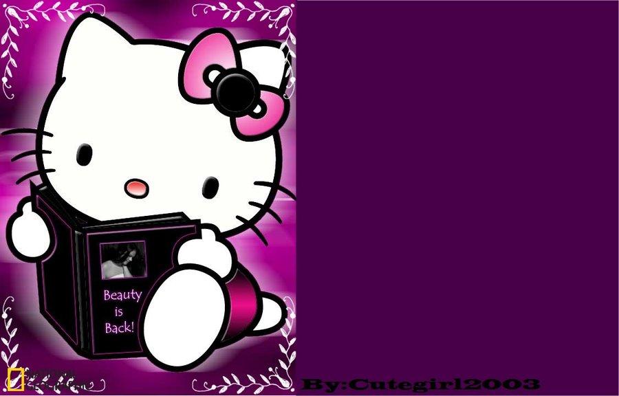 900x576px Purple Hello Kitty Wallpaper Wallpapersafari