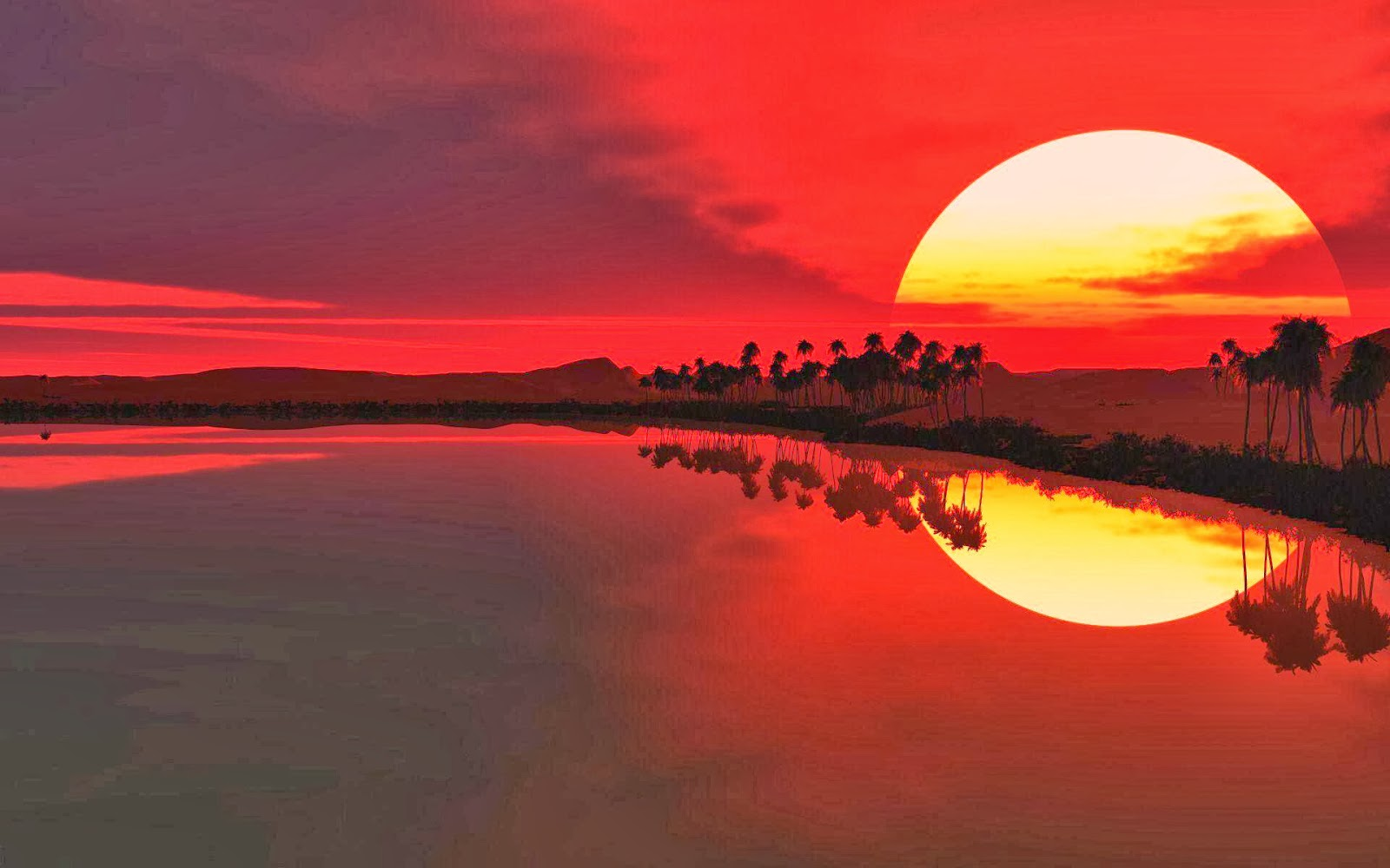 Sunrise and Sunset HD Wallpapers   Wallpapers 1600x1000