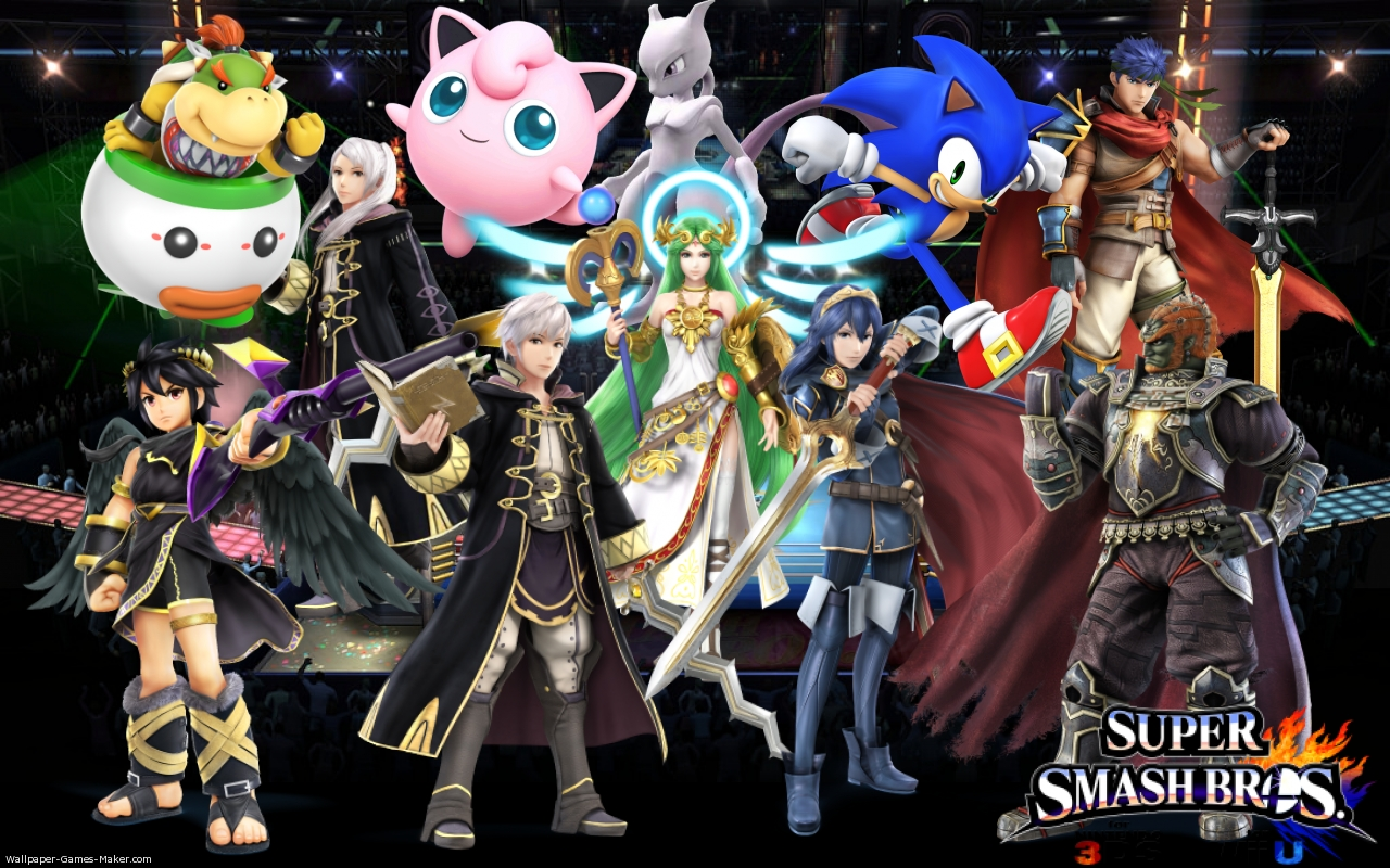 Free download Image Super smash bros wiiu wallpaper game makerJPG