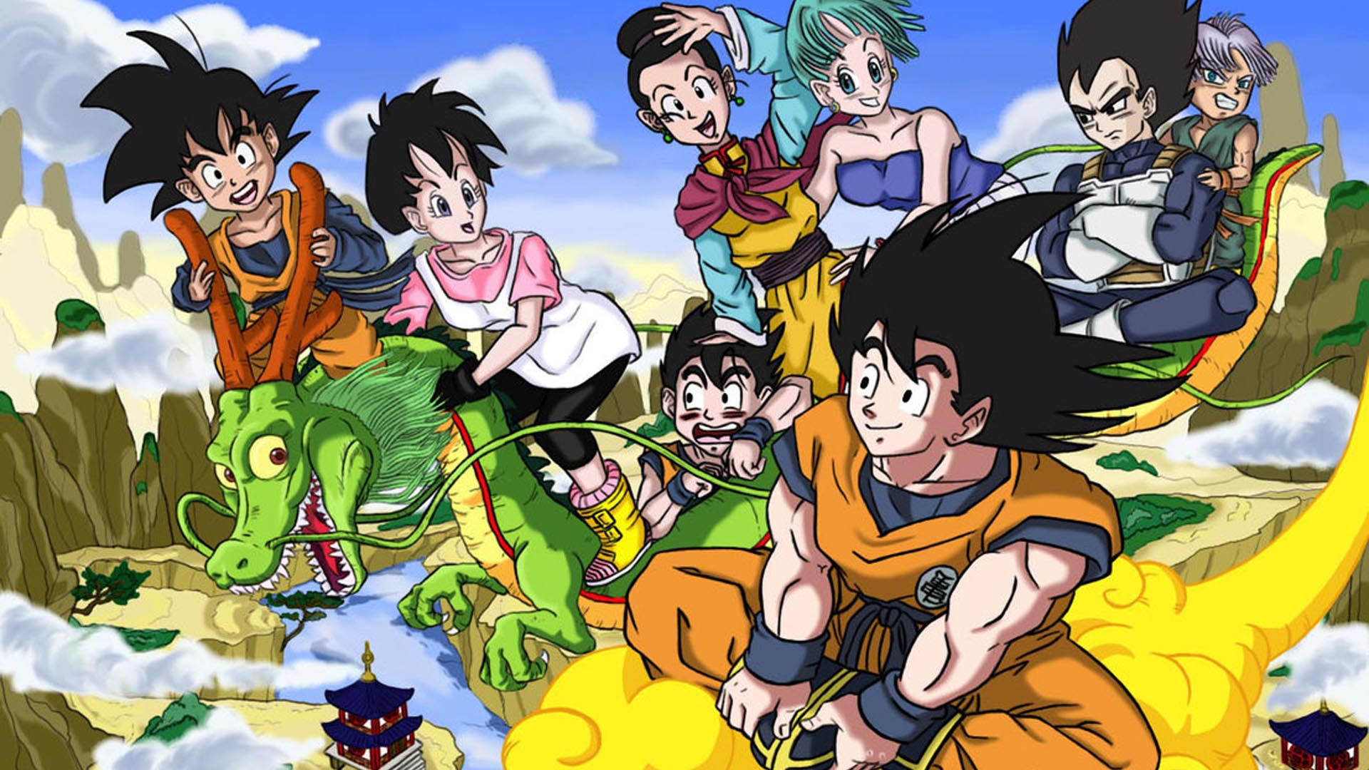 Dragonball HD 1920x1080 Wallpapers 1920x1080 Wallpapers Pictures 1920x1080