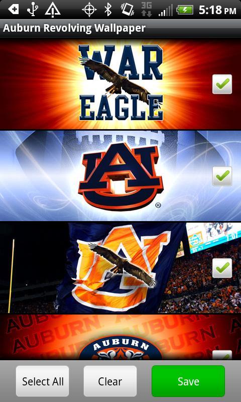 Auburn Revolving Wallpaper   Android Apps on Google Play 480x800