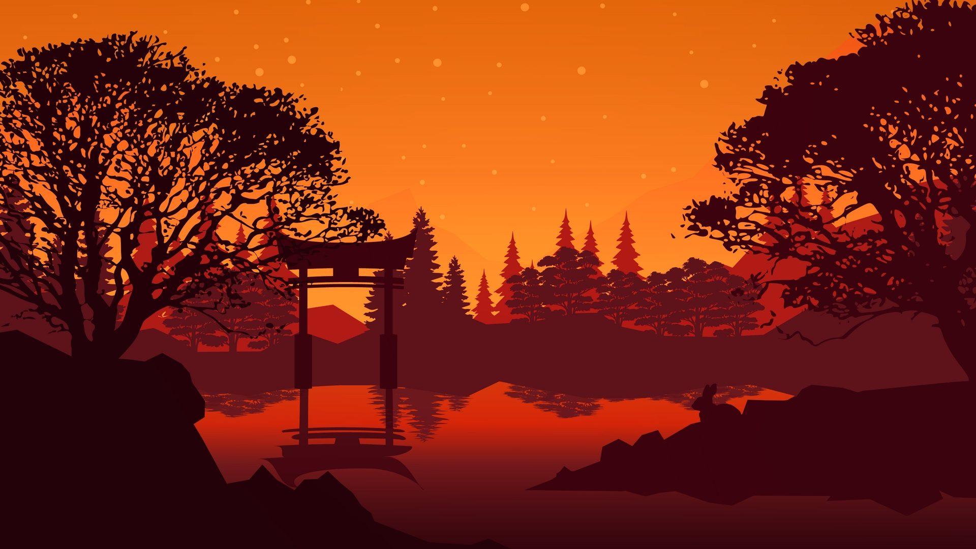 Torii gate miyajima wallpaper   HD Wallpapers Stores 1920x1080
