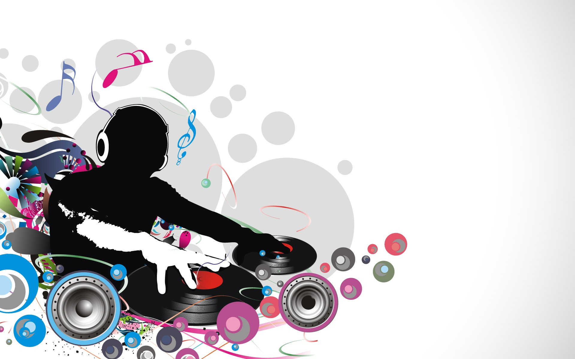 Dj Record Music Lovers   Stock Photos Images HD Wallpaper 1920x1200