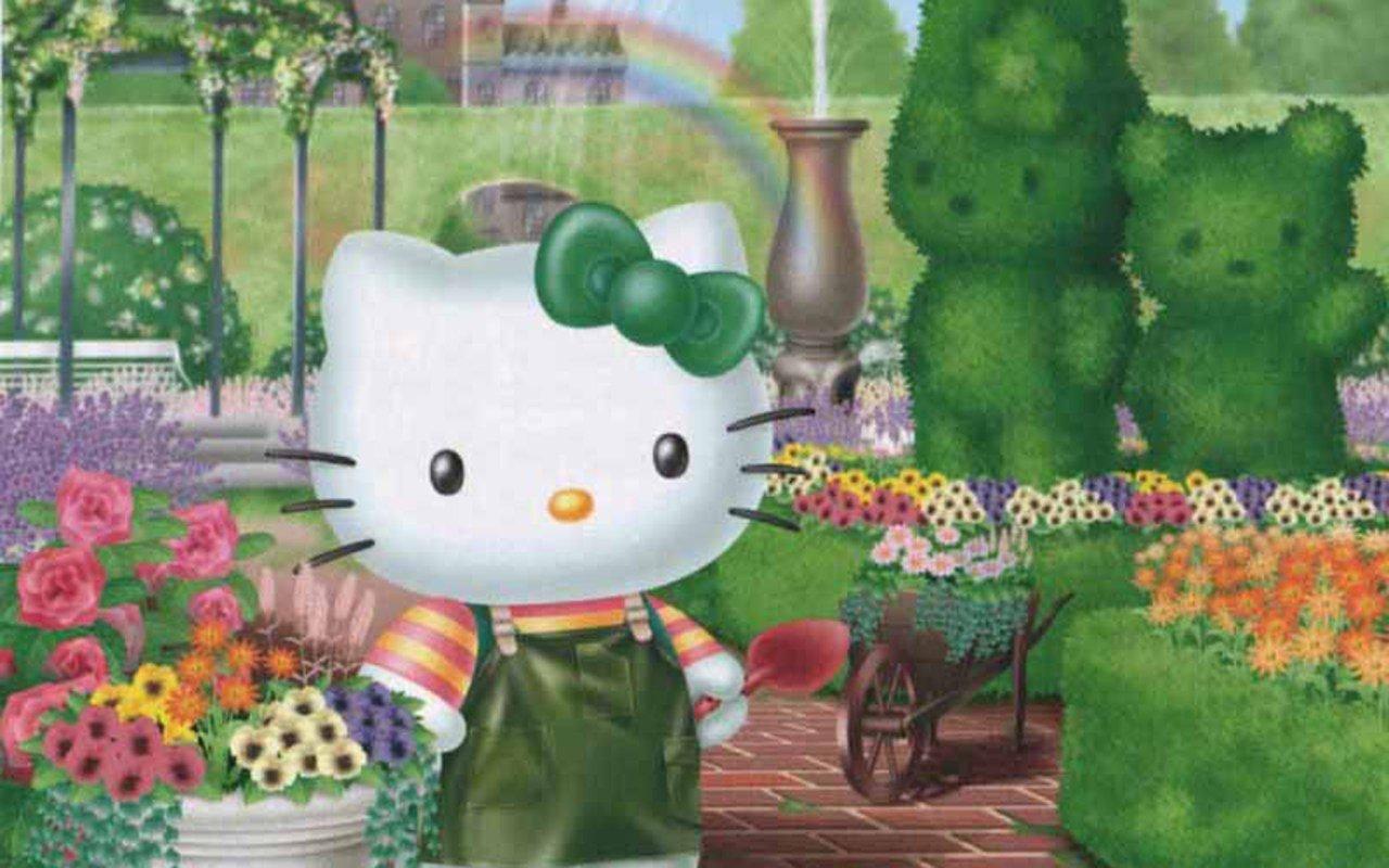 kittyrulez hello kitty spring wallpaper 2