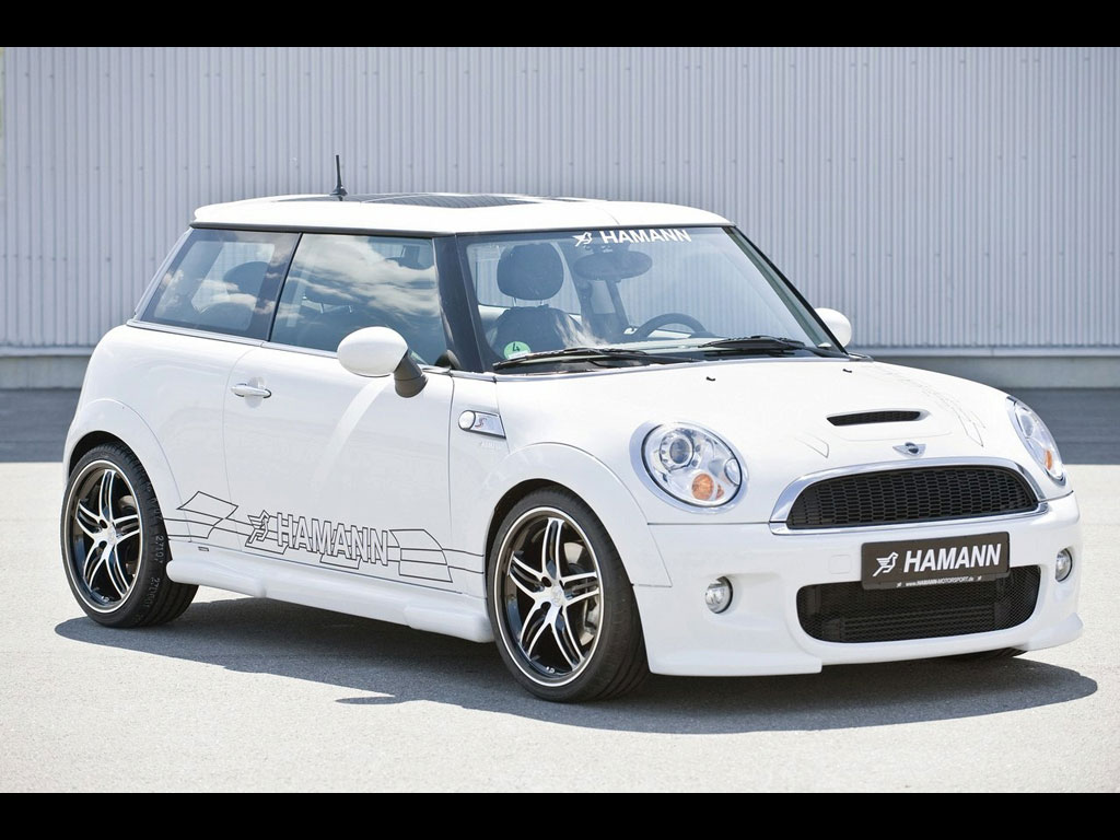 Hamann R56 MINI Cooper 2009 Modify Hamann R56 MINI Cooper wallpaper 1024x768