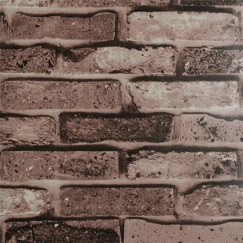 Faux Brick Wallpaper Faux brick wallpaper 500x500