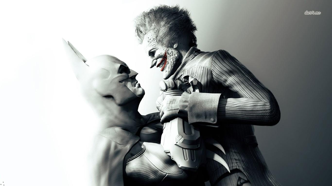 vs Joker   Batman   Arkham Asylum wallpaper   Game wallpapers   11657 1366x768