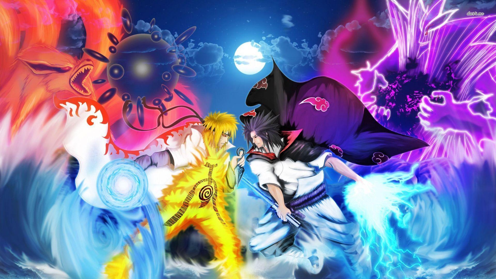 Free Download Naruto Vs Sasuke Wallpapers 1920x1080 For Your