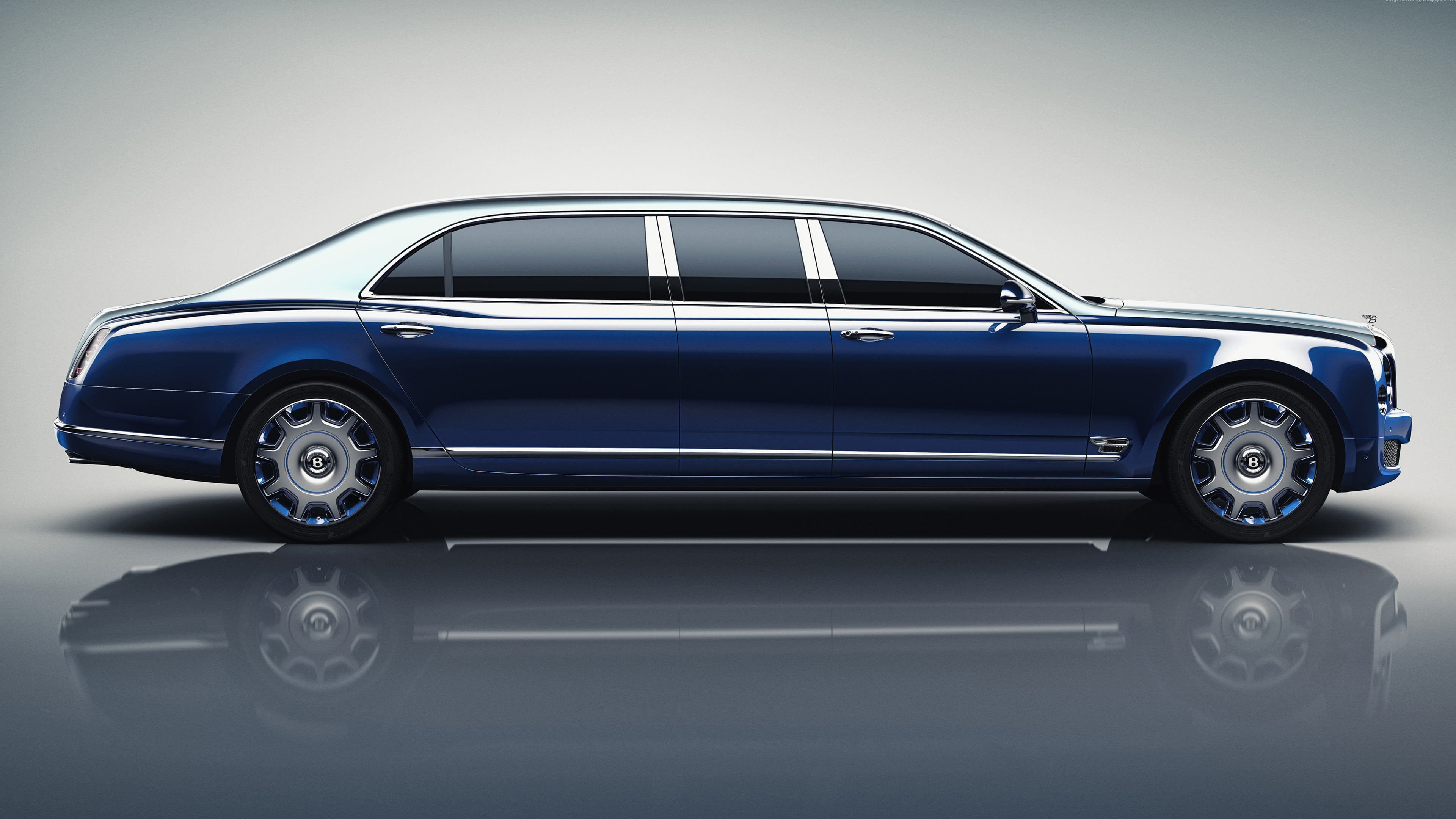 Bentley Mulsanne Grand Limousine Side UHD 4K Wallpaper Pixelz 3840x2160