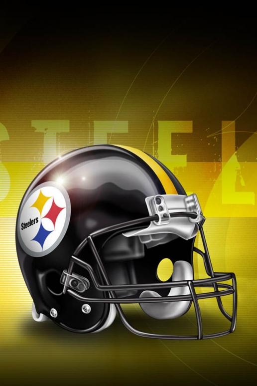 Pittsburgh Steelers Helmet iPhone HD Wallpaper 516x774