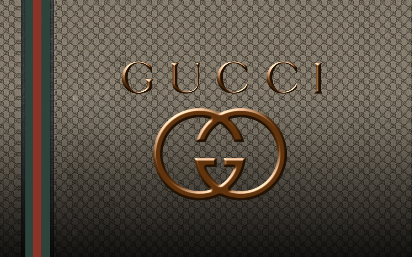 Pics Photos   Gucci Brand Logo Design Background Hd 1440x900