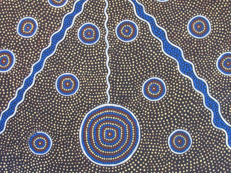 photo Aboriginal Art Aboriginal Painting 960x720