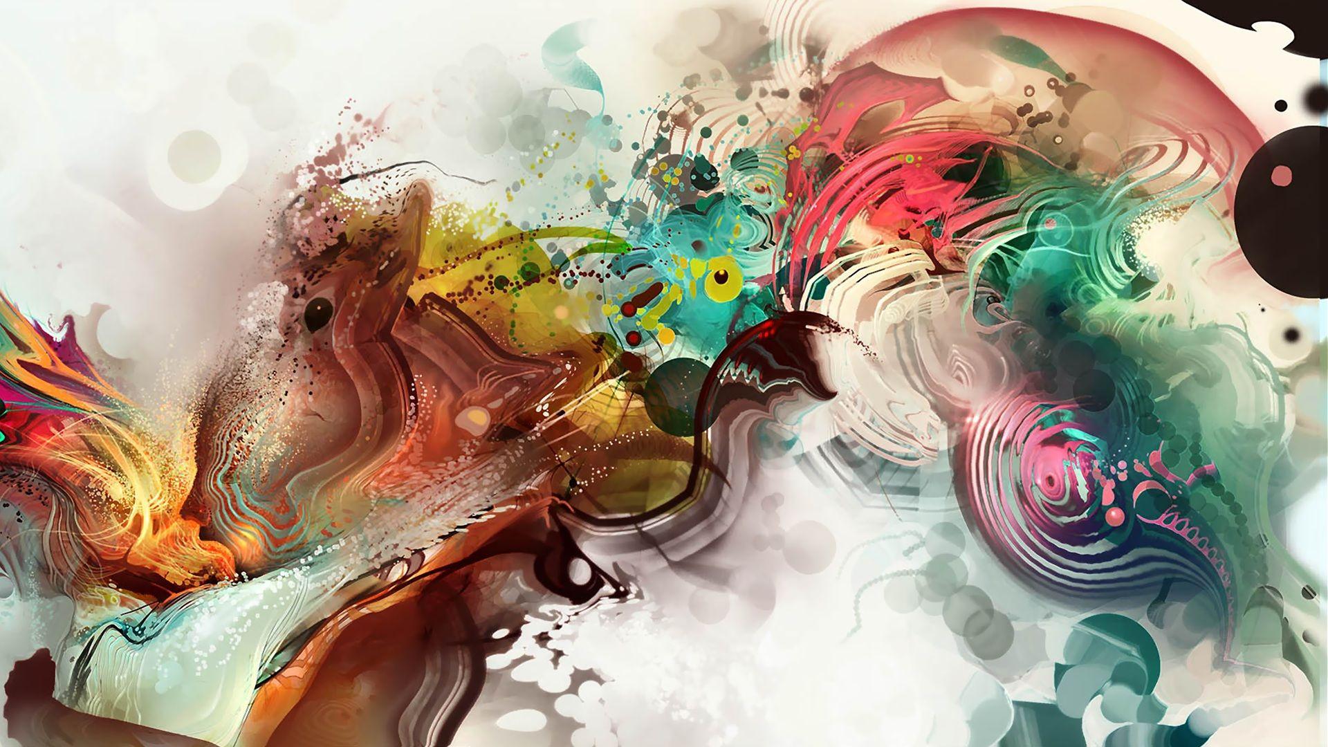 Android Jones abstract wallpaper Artistic wallpaper Cool 1920x1080