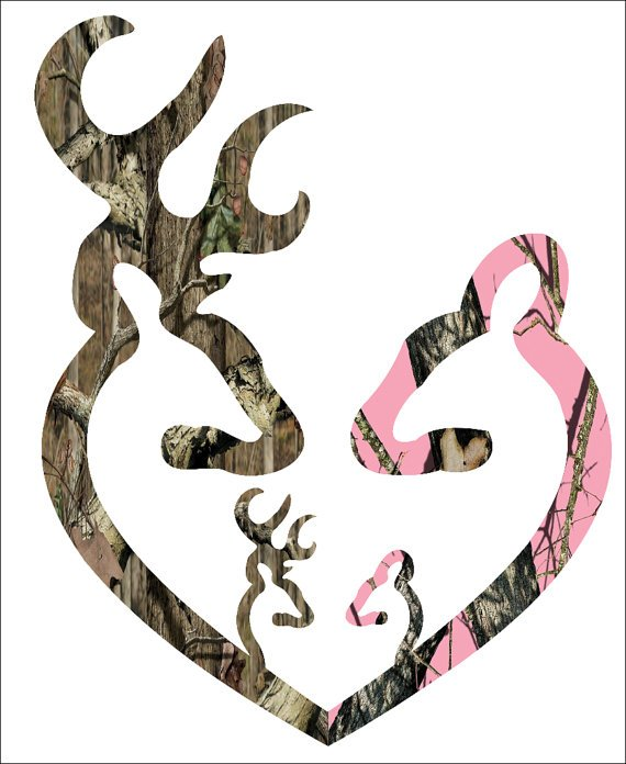 Browning Pink Camo Heart 11 browning style camo and pink camo heart 570x696