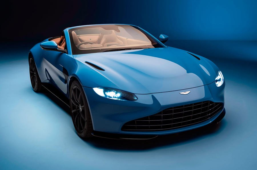 New Aston Martin Vantage Roadster gets fastest production roof 900x596