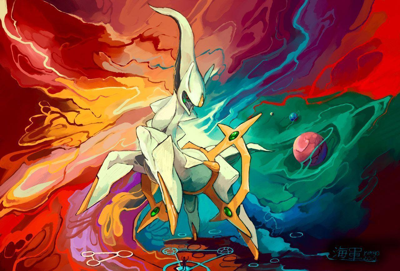 Pokemon Wallpapers Arceus 1280x867