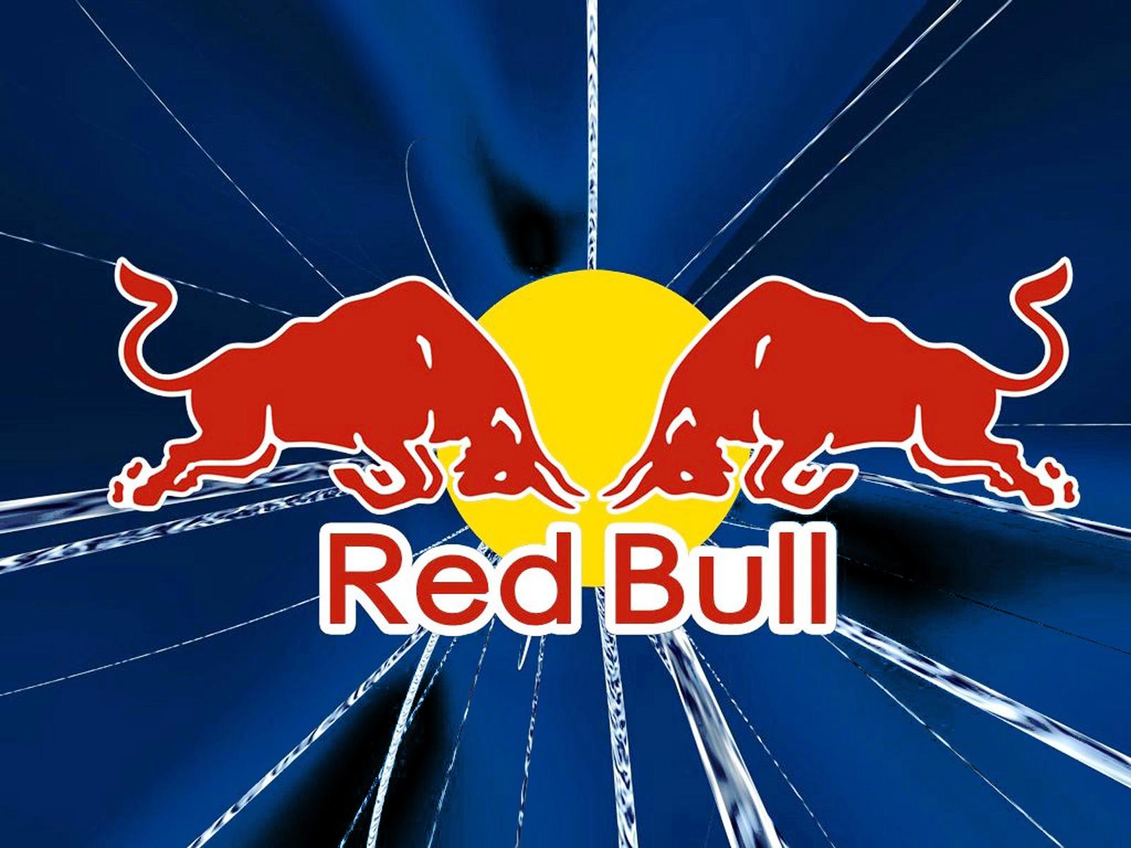 s1600Red Bull Blue Background HD Wallpaper VvallpaperNetjpg 1600x1200