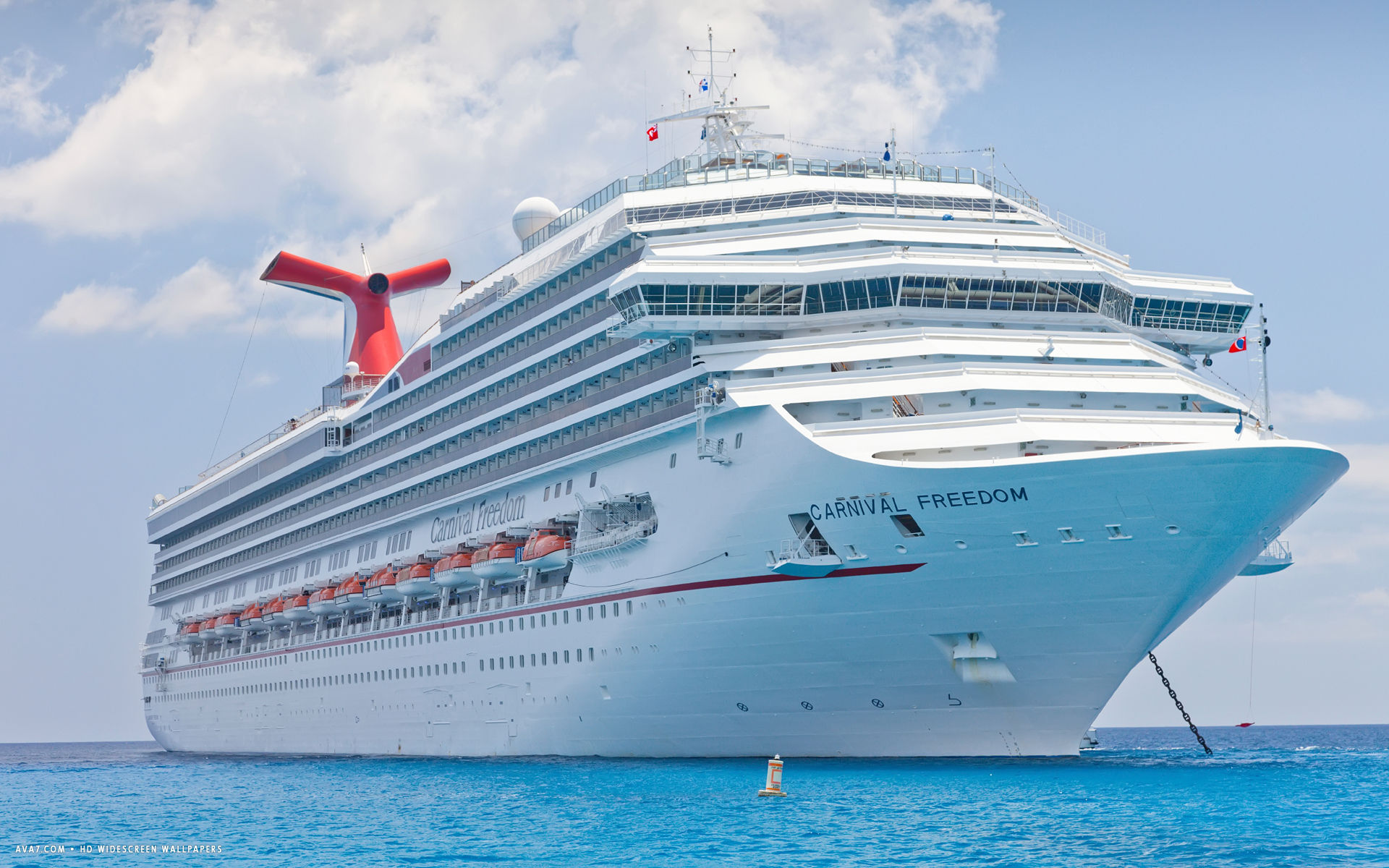 carnival freedom cruise ship hd widescreen wallpaper cruise ships 1920x1200