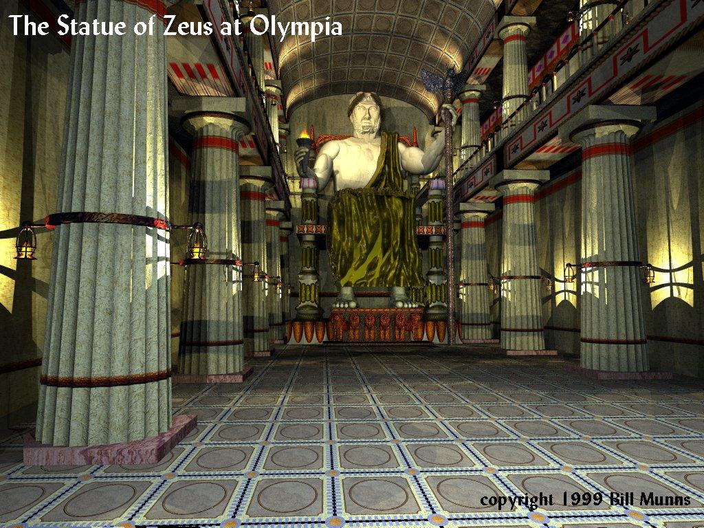 Best 50 Statue of Zeus at Olympia Wallpaper on HipWallpaper 1024x768