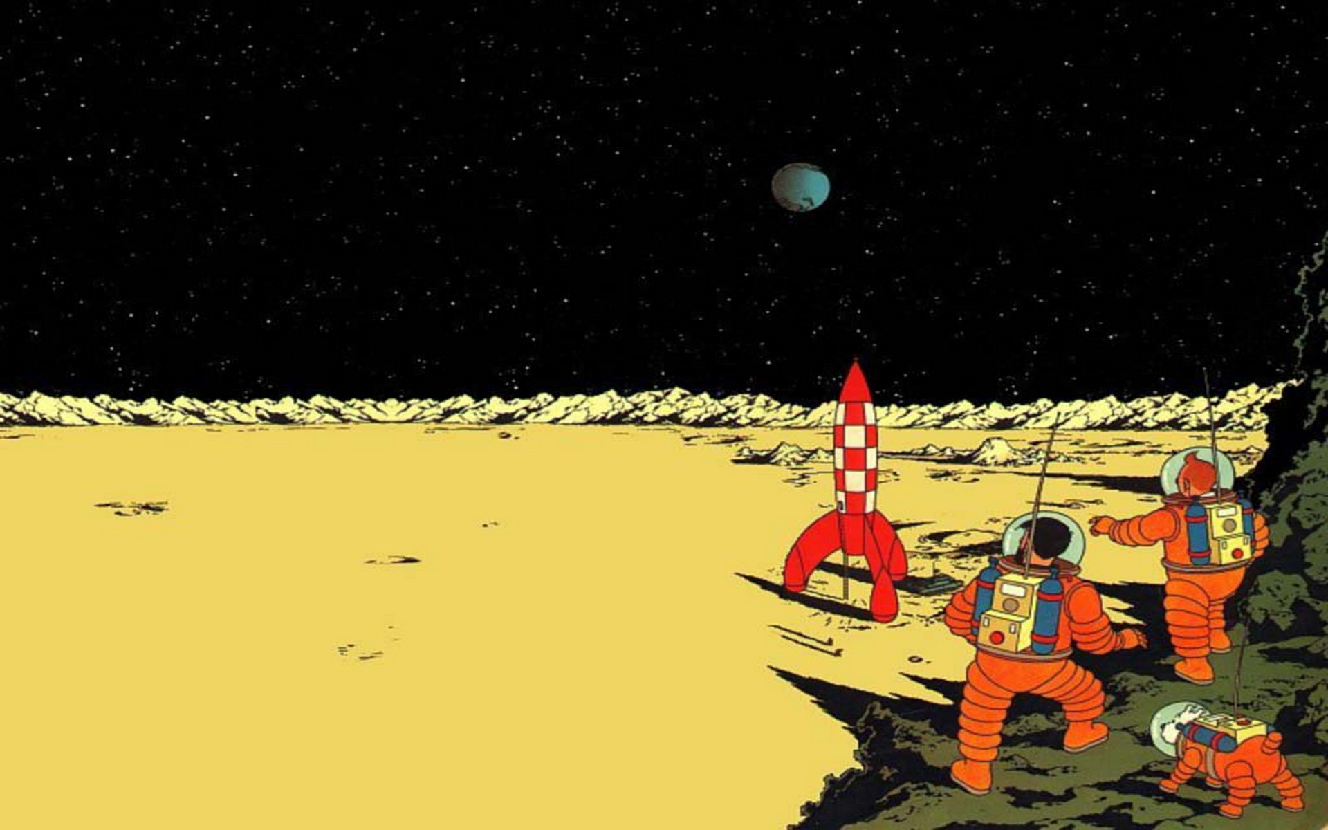 Tintin Wallpaper 33 HD Desktop Wallpapers 1920x1200