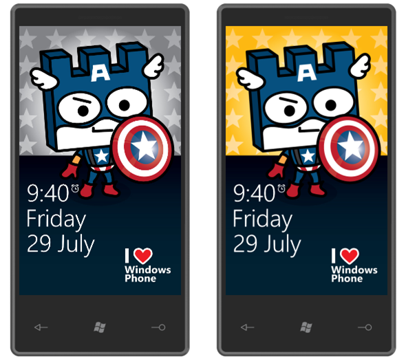 Custom cute Capt America wallpaper for your Windows Phone Windows 590x528