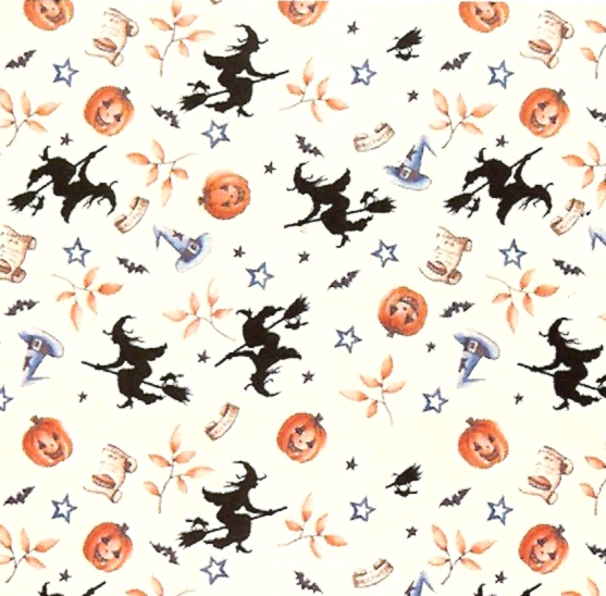 Wallpaper Halloween Witches [IB 1851]   400 Miniature Dollhouses 557x548