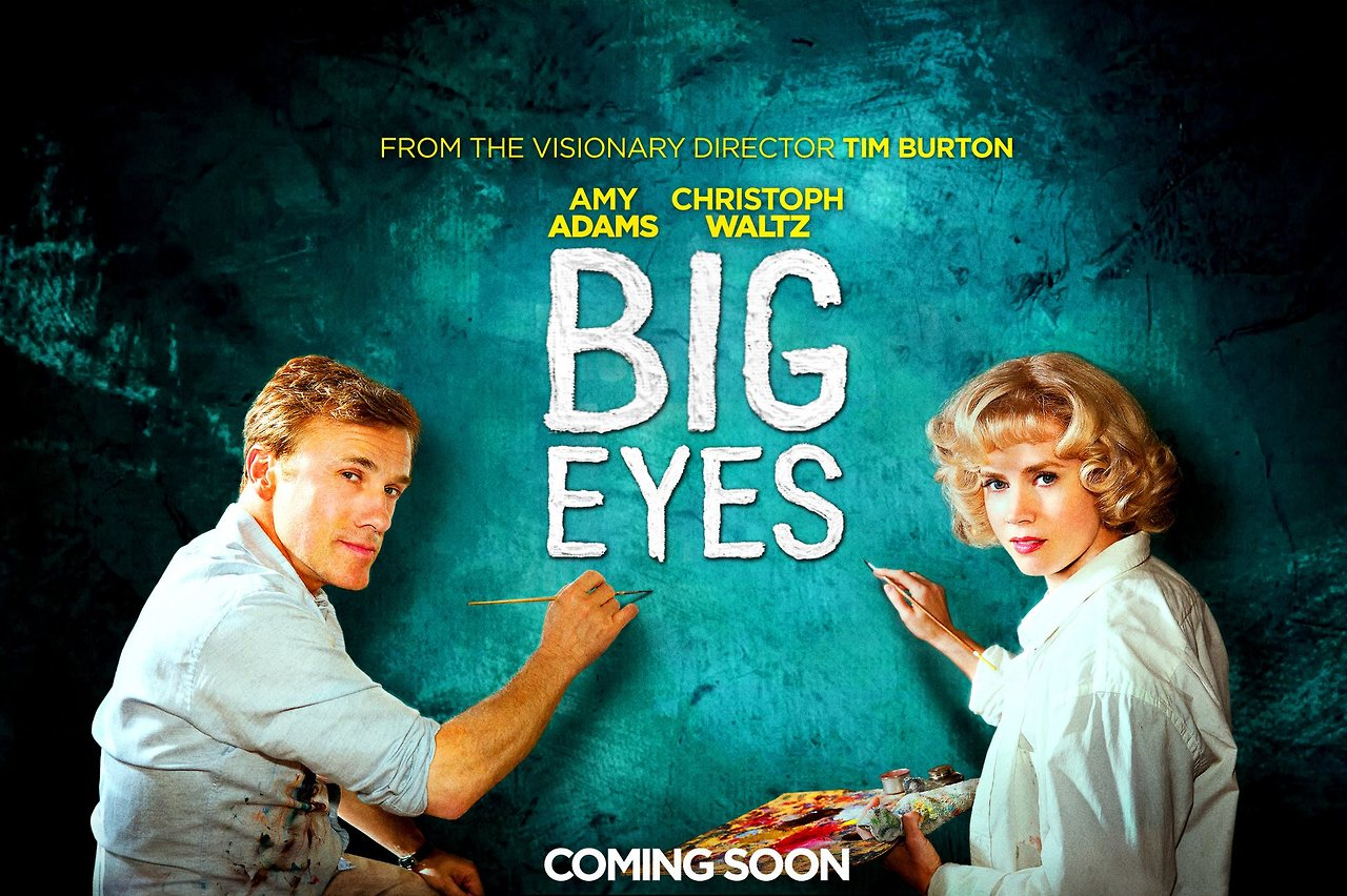 Big Eyes 2014 Movie Poster HD Wallpaper   Stylish HD Wallpapers 1280x852