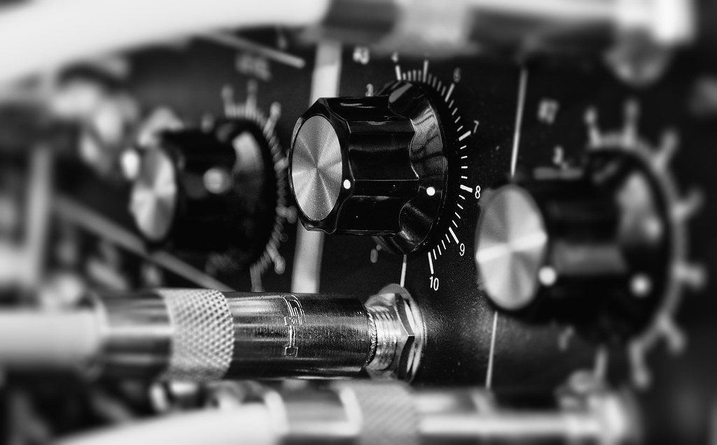 All sizes Modular Synthesizer Macro Wallpaper Flickr   Photo 1024x636