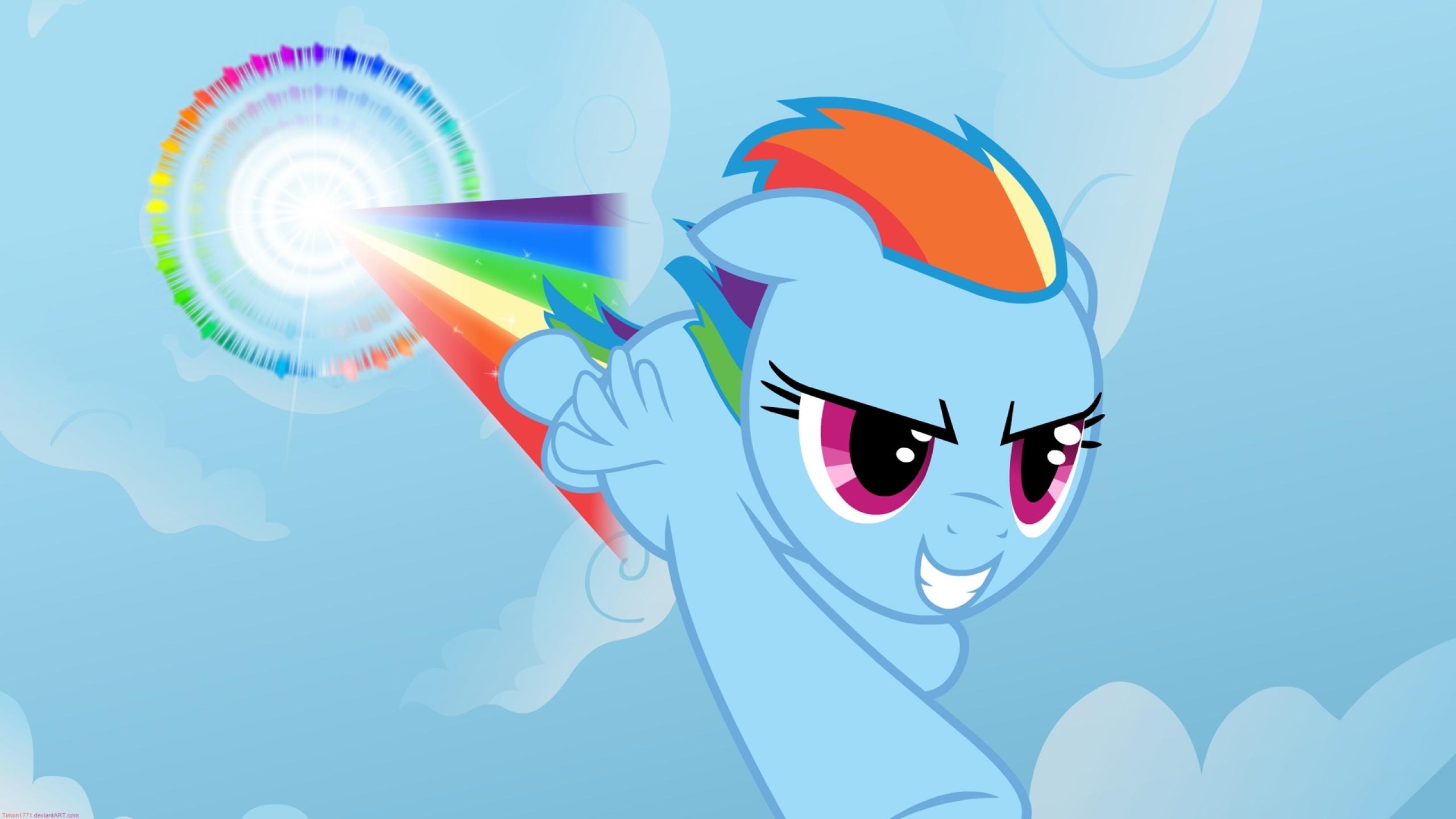 rainbow dash sonic rainboom 1920x1080 wallpaper Wallpaper 2560x1440